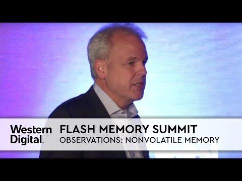 Flash Memory Summit | Martin Fink's Observations: Non-volatile Memory Market