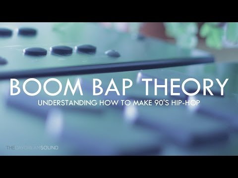 Learning 90's Boom Bap Hip Hop Music Theory in 2017