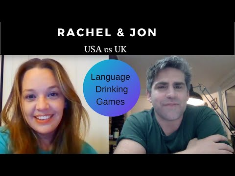 jon and Rachel Walters drinking word and phrase game