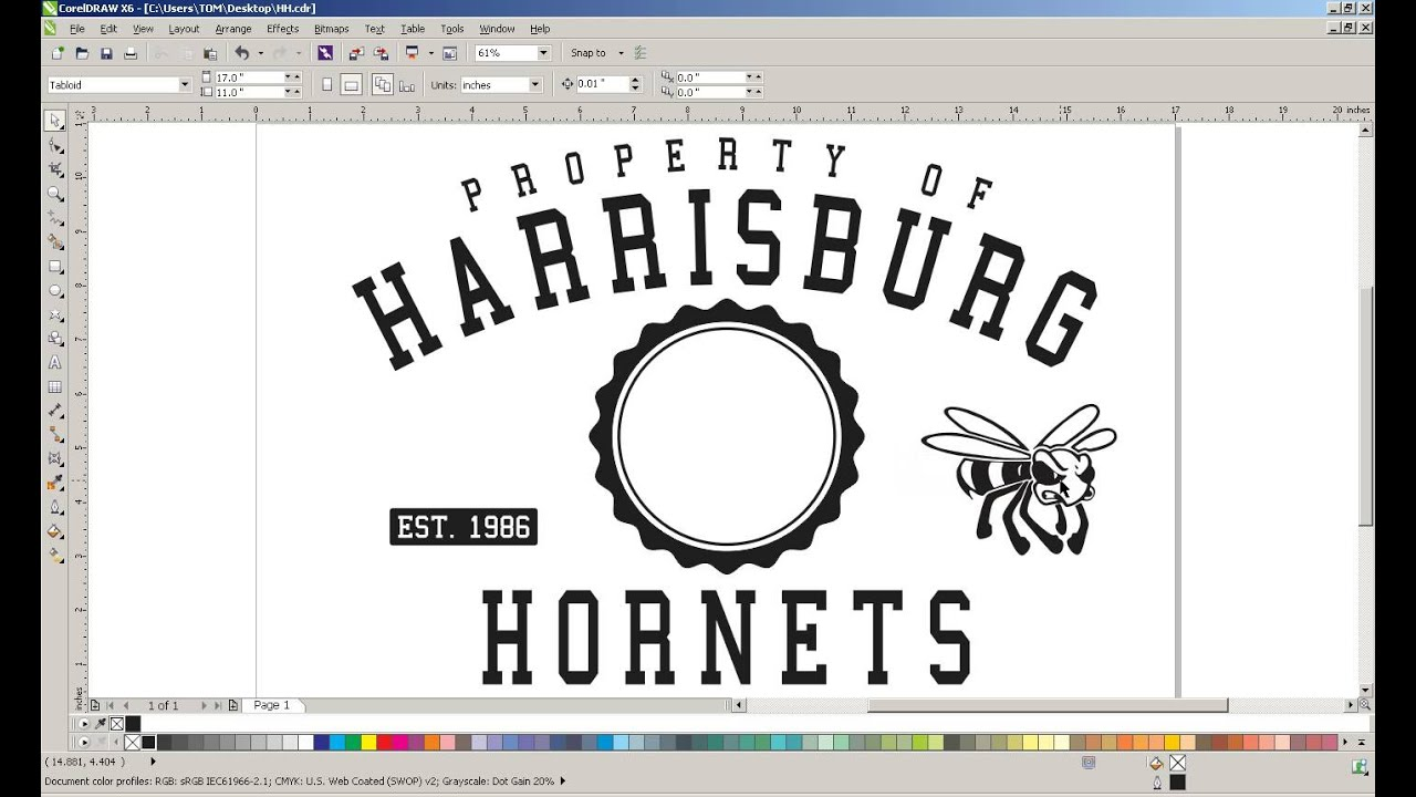 How To Create A Best Selling T Shirt Design For Schools Youtube