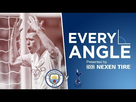 EVERY ANGLE | Phil Foden  v Spurs | Man City