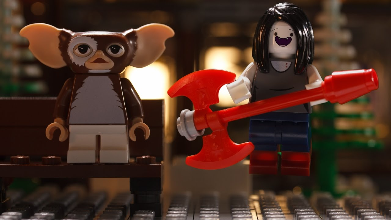 LEGO Dimensions  Marceline Meets Gizmo   YouTube