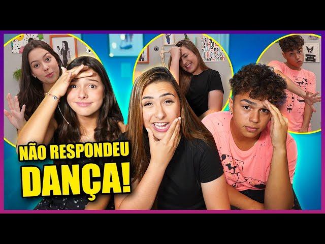 QUEM NÃO RESPONDER, DANÇA! ft. Juju e Pepe