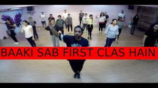 Kalank - First Class | Darshan Mehta Dance Choreography | workshop Video