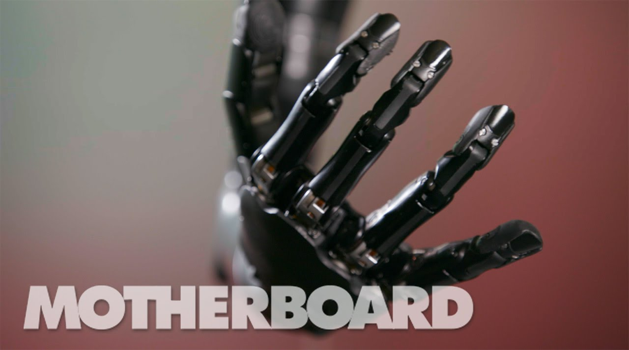 The Mind-Controlled Bionic Arm With a Sense of Touch. Amazing...