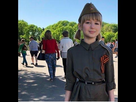 видео: Ярослава Дегтярёва поёт в день Победы!