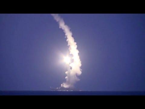 Rusia Lanza Misiles En Ofensiva Siria