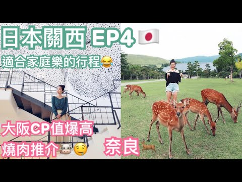 ◤Travel with Suenn◢日本VLOG EP4 奈良半天遊 滋賀 信樂 | 大阪高質抵食燒肉店🐮【中字】