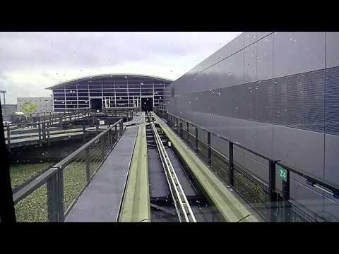Бесплатный беспилотник. Шаттл между терминалами Аэропорт Frankfurt #3