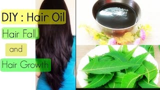 DIY : Neem Oil for Hair Fall and Hair Growth | Hair Fall Treatment | YouTube India