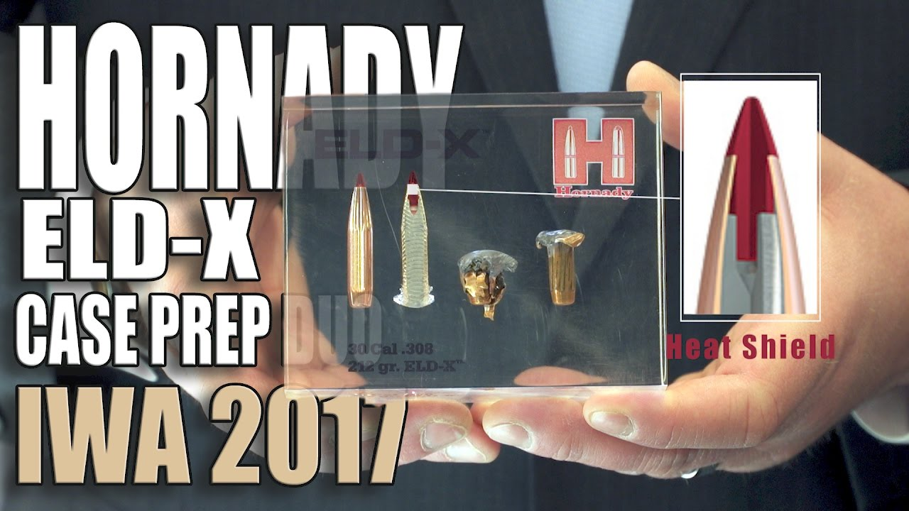 Hornady ELD-X - Case prep duo - Precision hunter - IWA ...