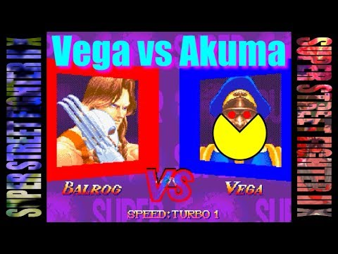Vega vs Akuma - SUPER STREET FIGHTER II Turbo for 3DO