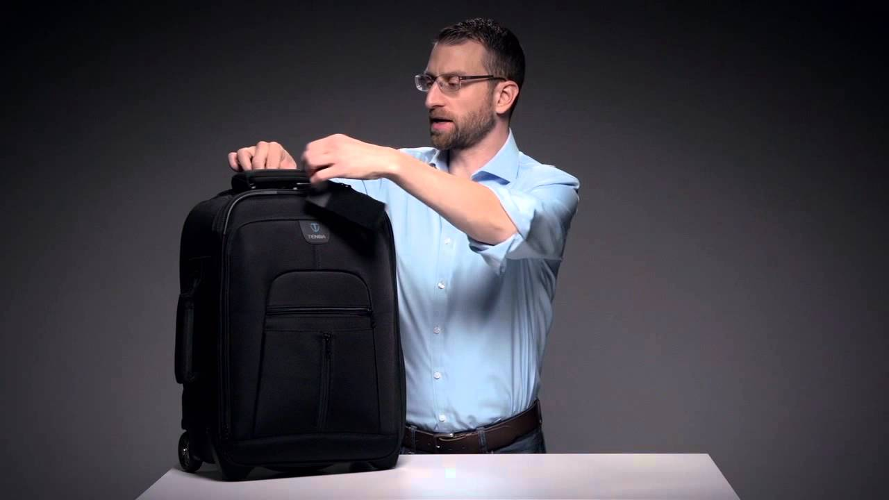 Tenba Roadie Hybrid Carry On Compatible Rolling Case And Backpack Youtube