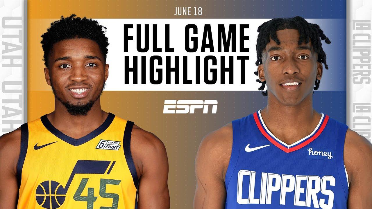 Utah Jazz at LA Clippers | Full Game Highlights