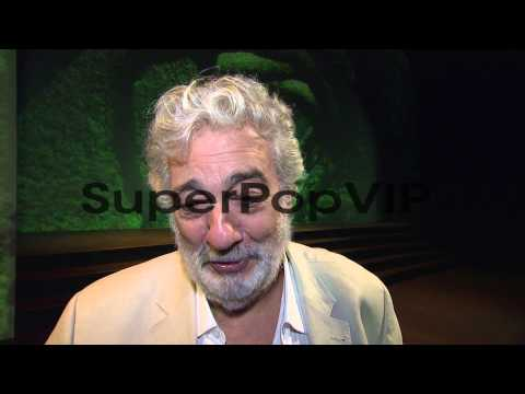 INTERVIEW - Placido Domingo on the opera Dulce Rosa at Th...