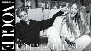 Elle Macpherson on green juices and modelling with her sons   Interview   Vogue Australia