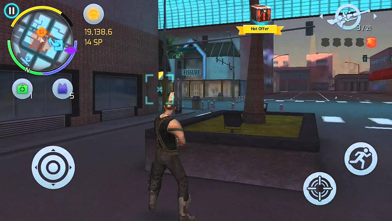 لعبه المغامرات والعالم المفتوح الرائعه : Gangstar Vegas v2.0.1b مهكره جاهزه