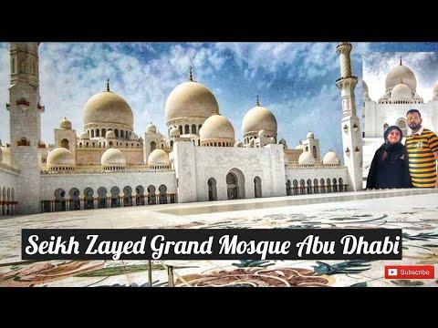 Dubai Vlog -4 (Sheikh Zayed Grand Mosque Abu Dhabi)