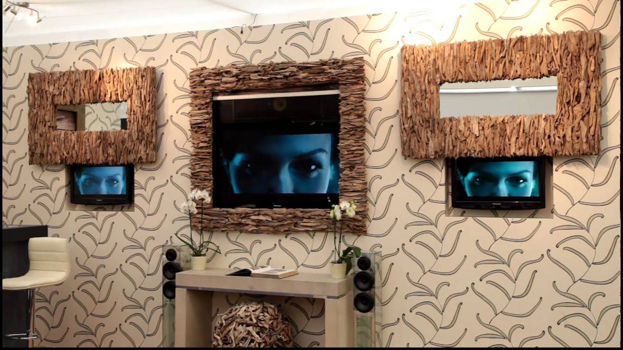 Hidden TVs - Metamorphic TV Frame and Picture Lifts - YouTube