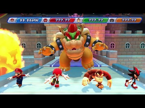 Mario & Sonic at the Sochi 2014 Olympic Winter Games - Dream Events Vs. Olympic Events