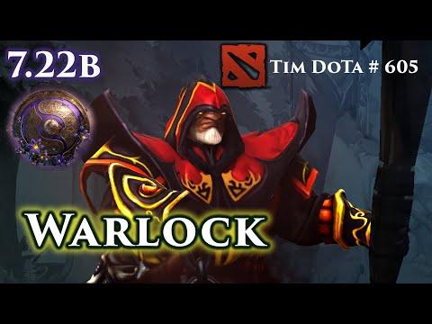 Dota 2 Warlock | 7.22b | Coached | Tim Dota 605