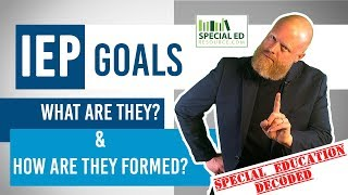 IEP Goals Defined | Special Education Decoded