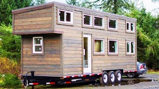 Luxury Tiny House With Bedroom And Full Kitchen