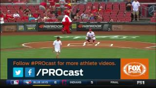 J.R. Todd's PROCAST Video from the Reds First Pitch on TV