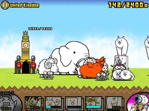 The Battle Cats !  Empire Of Cats Ch.2  United Kingdom