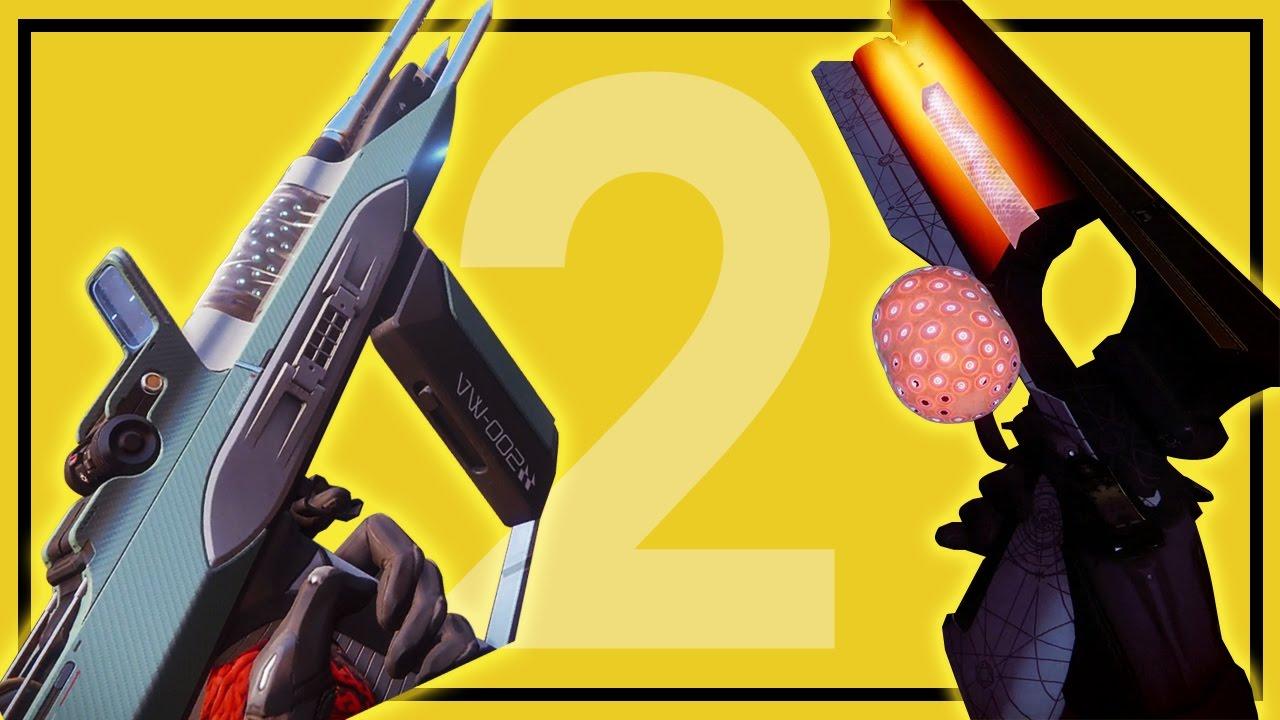 Destiny 2: Legendary & Exotic Weapon First Look - Sunshot, Riskrunner,  Sweet Business