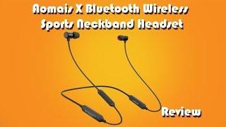 Aomais X Bluetooth Sports Headset Review