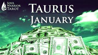 🍀 TAURUS JANUARY 2019 MONEY JOB CAREER FORECAST Soul Warrior Tarot