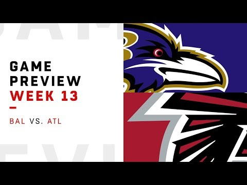 Baltimore Ravens vs. Atlanta Falcons | Week 13 Game Preview | NFL Playbook