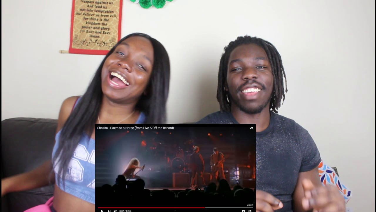 Download Shakira - Poem to a Horse (from Live & Off the Record) - REACTION