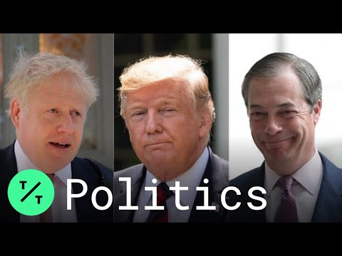 Boris Johnson Rejects Trump's Call to Team Up With Nigel Farage's Brexit Party