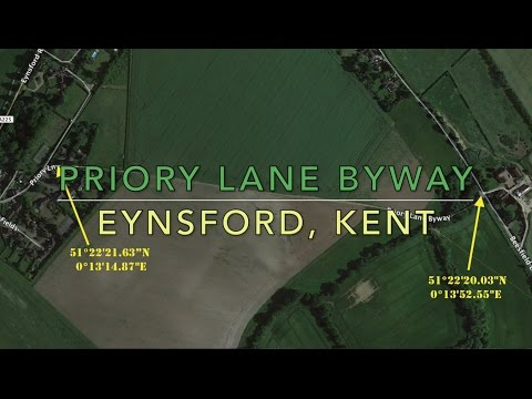 Tornado tackles - Priory Lane Byway, Eynsford, Kent