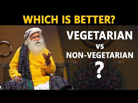 Vegetarian vs Non Vegetarian Diet - Which is Better?   Sadhguru