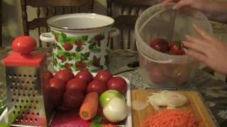 Суточные красные помидоры.Очень вкусно!!!