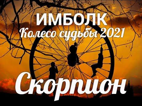 ИМБОЛК СКОРПИОН ♏Колесо судьбы 2021 год для скорпионов.