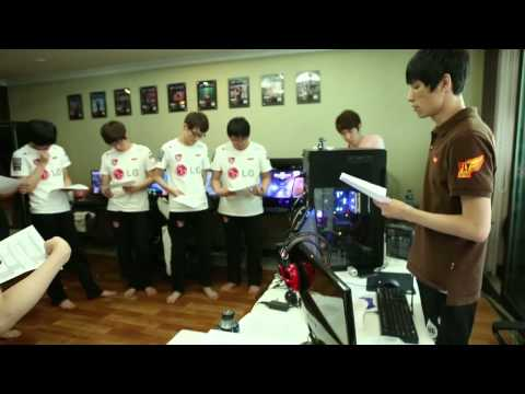 Inside look at Korean Starcraft II pro teams - Part 1