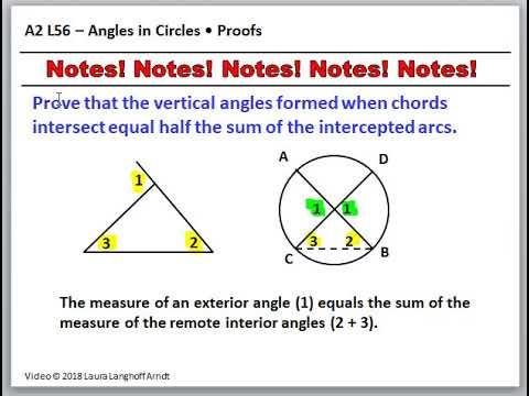 Saxon Algebra 2 L56 3rd Edition - YouTube