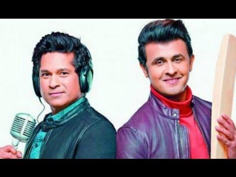 Sachin Tendulkar new song with sonu nigam
