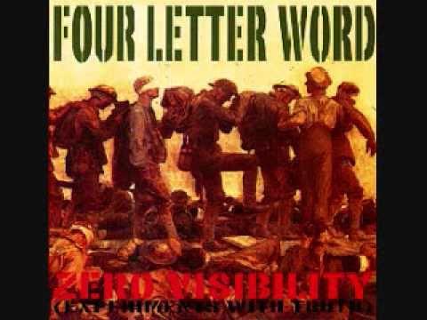 four letter word - broken pane.