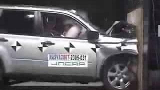 Nissan X Trail Краш Тест Jncap