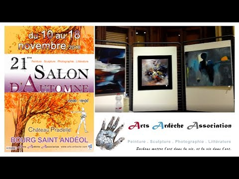 salon Arts Ardèche de Bourg Saint Andéol