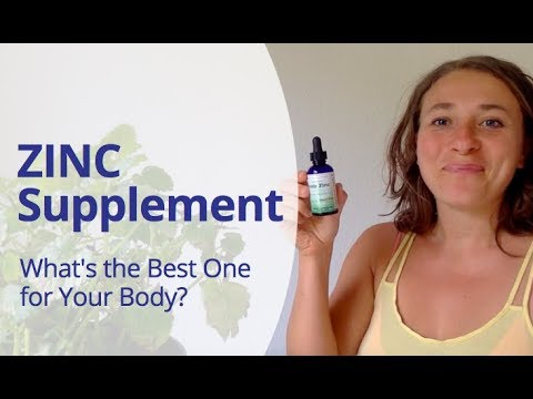 Best ZINC Supplement - Help your body heal quicker