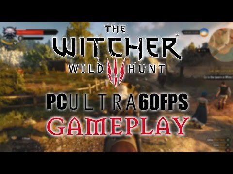 Watch 10 Minutes of 1080p/60fps Witcher 3 PC on Ultra Settings