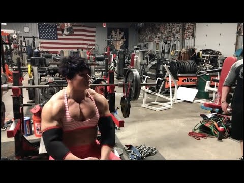 Chest And Tris Training At Elitefts Part 2