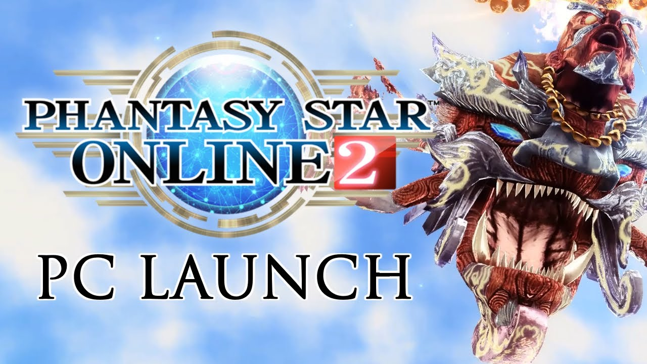 PSO2 PC Launch in a Nutshell