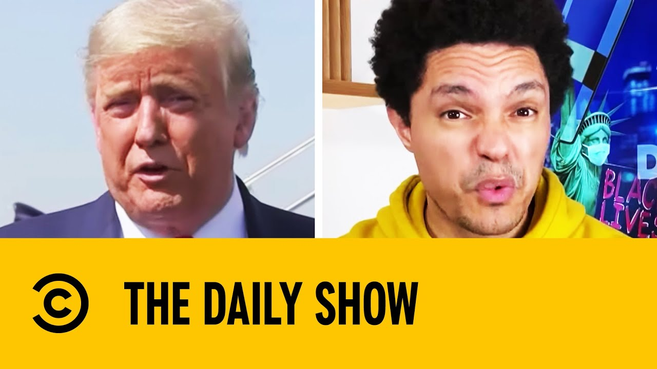 Download Trump Suggests He Might Leave The Country If He Loses Election | The Daily Show With Trevor Noah